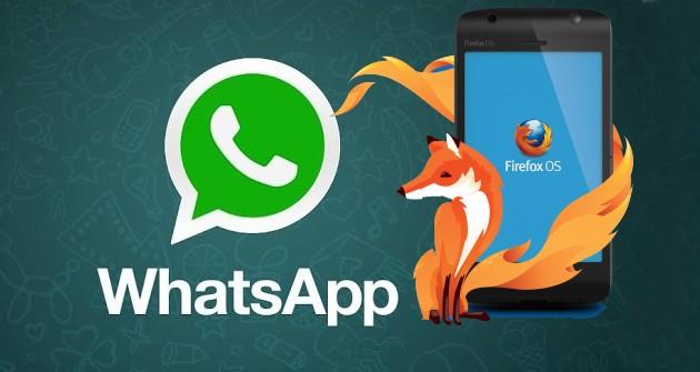 firefox-os whatsapp