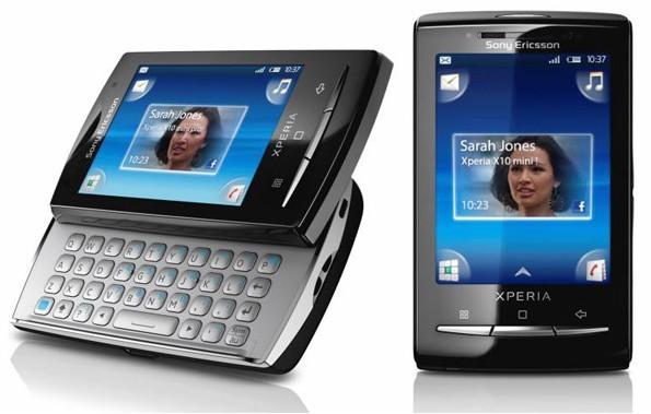 Sony Ericsson Xperia X10 mini E10