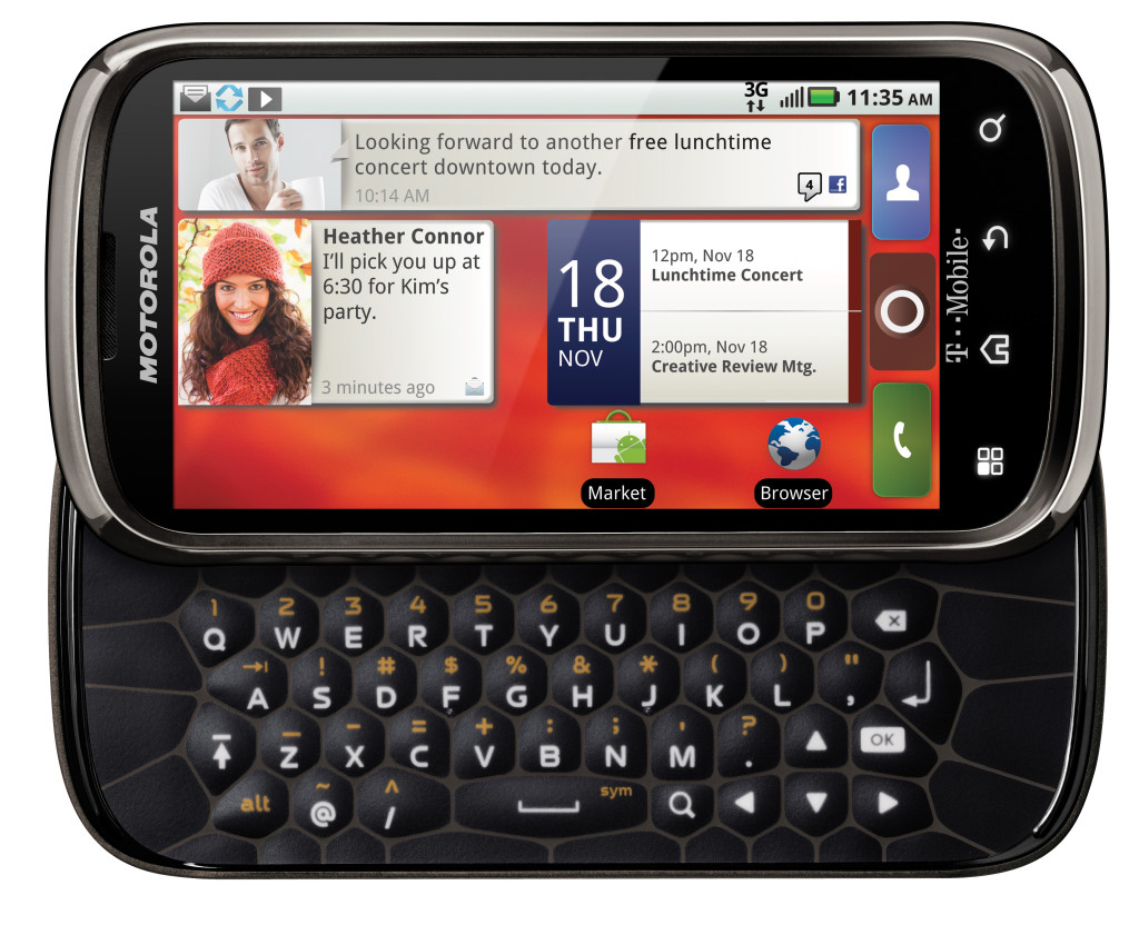 Whatsapp para Motorola Cliq 2 MB611