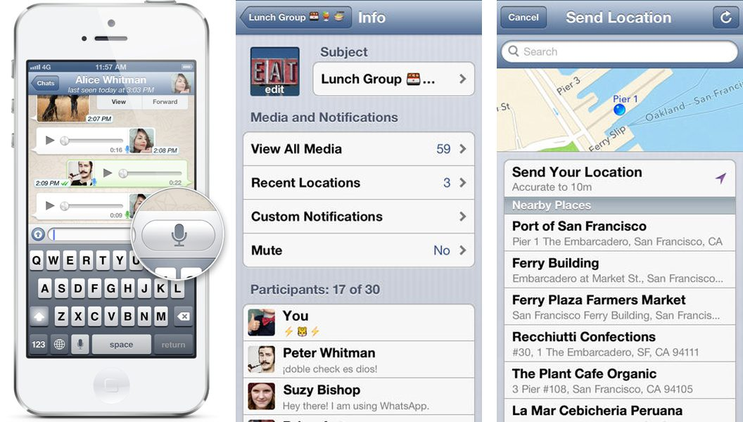 Whatsapp iphone 5 free download - f30a